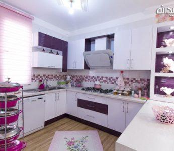 دکوراسیون آشپزخانه های کوچک ، در دل خانه های ایرانی +تصاویر