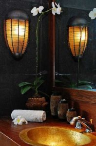 نورپردازی مدرن حمام و دستشویی