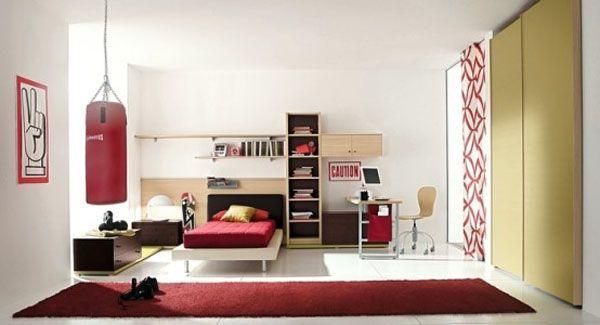 طراحی مدل دکوراسیون اتاق نوجوان پسر