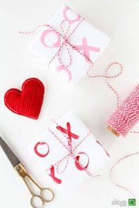 تزیین کادوهای عاشقانه