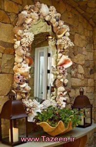 تزئین خانه با صدف و ستاره دریایی