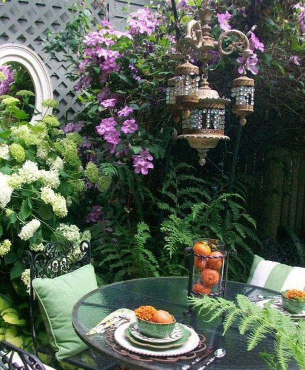 محوطه سازی و فضای سبز حیاط