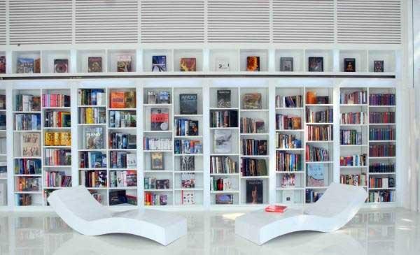 دکوراسیون کتابخانه خانگی جدید با انواع طراحی مدرن + تصاویر