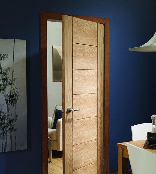 درهای چوبی در دکوراسیون داخلی و نقش آنها  تصاویر