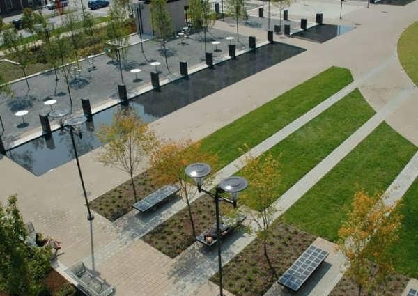 دکوراسیون فضای سبز شهری
