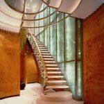 نرده راه پله با انواع طرح های استیل و چوبی در دکوراسیون داخلی + تصاویر