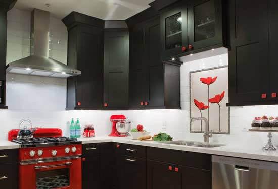 کابینت آشپزخانه با طراحی مدرن