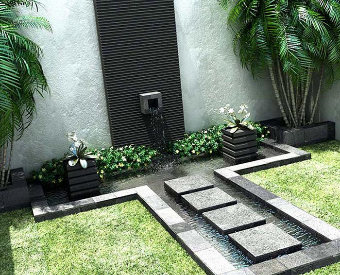 فضای سبز حیاط های کوچک همراه با ایدههای ناب و مدرن امروزی + تصاویر