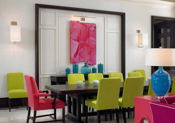 دکوراسیون اتاق غذاخوری مدرن