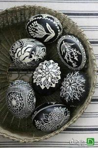 تزیین تخم مرغ های هفت سین 96