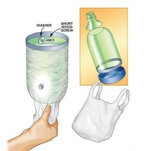 ایده هایی برای بی نظمی کیسه پلاستیکی