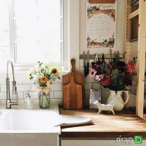 تزیین دکوراسیون آشپزخانه