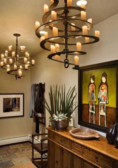 اتاق پذیرایی شیک با لوسترو ایجاد فضایی مدرن و زیبا + تصاویر