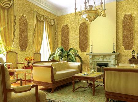 طراحی دیوار با پوشش دیواری بلکا