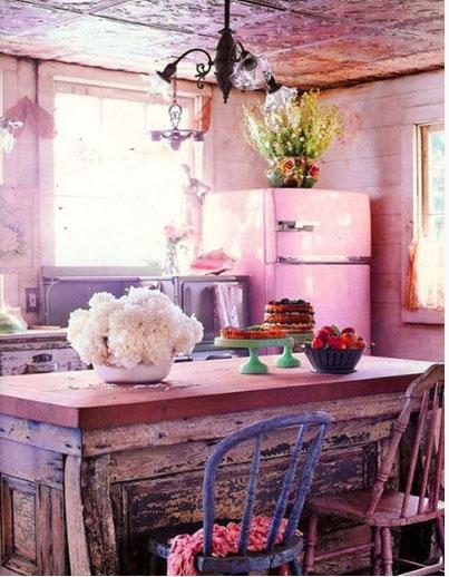 آشپزخانههای بوهمیایی +تصاویر
