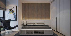 طراحی دیوار بالای تخت