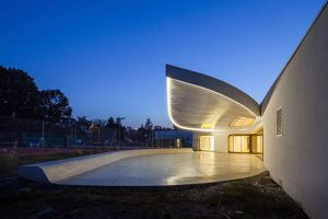 طراحی داخلی باشگاه تنیس