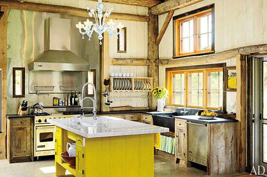 آشپزخانه به سبک روستیک +تصاویر