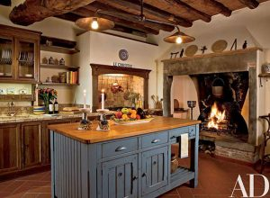 آشپزخانه به سبک روستیک