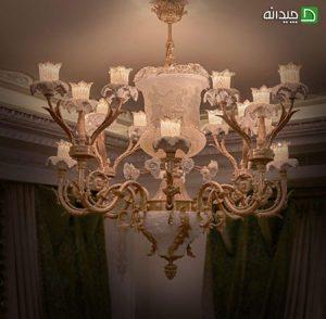 لوسترهای پذیرایی برای نورپردازی خانه