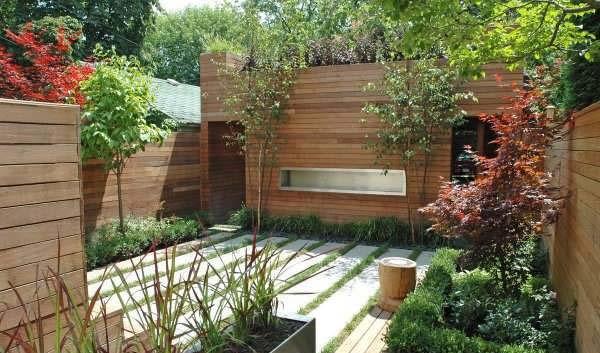 نمای دیوار حیاط با طراحی زیبا و کاربردی +تصاویر