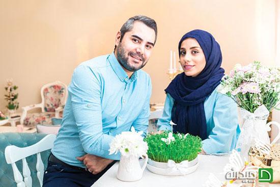 دکوراسیون منزل رمانتیک زوج تهرانی