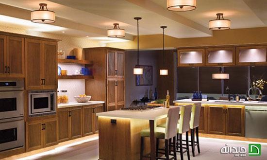 اصول نورپردازی آشپزخانه و غذاخوری چیست؟