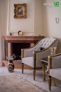 انتخاب رنگ سفید و طوسی در دکوراسیون منزل