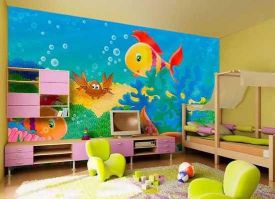 اتاق کودکان با طراحی دخترانه و پسرانه +تصاویر