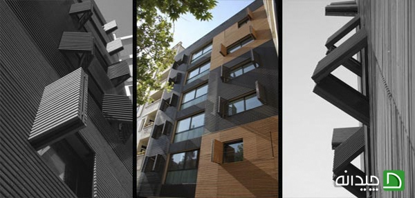 دکوراسیون نمای بیرونی ساختمان های جدید +تصاویر
