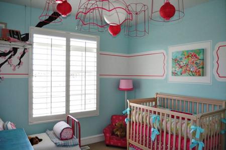 اتاق نوزاد پسر به رنگ صورتی ، مگر می شود؟