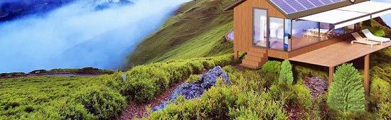 خانه ای با استفاده از چاپ سه بعدی