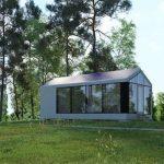 خانه ای با استفاده از چاپ سه بعدی +تصاویر