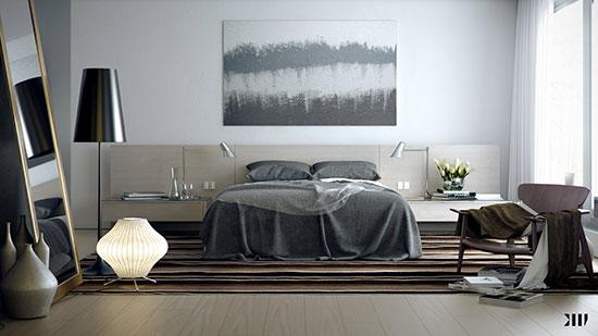 نحوه انتخاب رنگ اتاق خواب