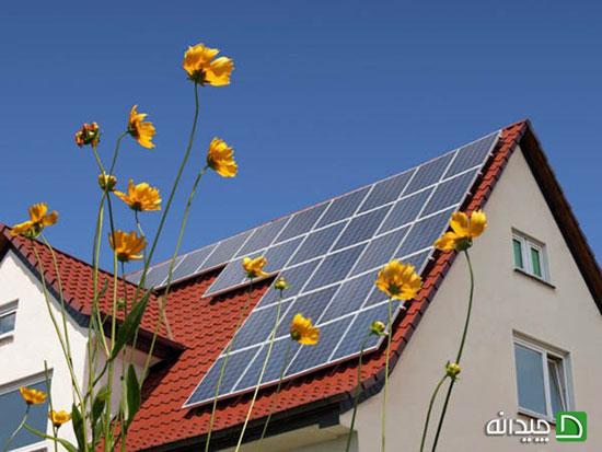 انرژی خورشیدی در ساختمان ها