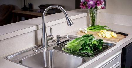 سینک ظرفشویی کورین یا استیل