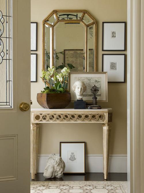 چیدن آینه ها در فضاهای مختلف خانه