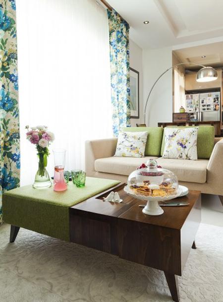 استاندارد میز جلو مبلی خانه های کوچک