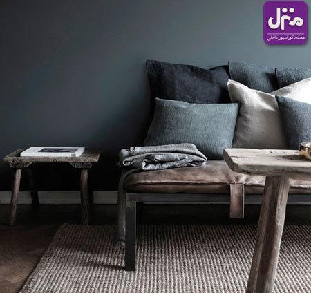 رنگ خاکستری در دکوراسیون خانه