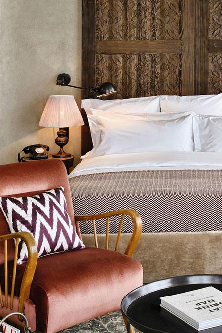 ایدههای دکوراسیونی از اتاق هتلها