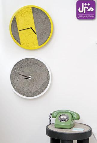 ساعت های مدرن برای دکوراسیون مدرن