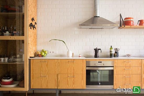 بازسازی آشپزخانه با هزینه مقرون به صرفه