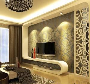 طراحی شیک دیوار پشت تلویزیون