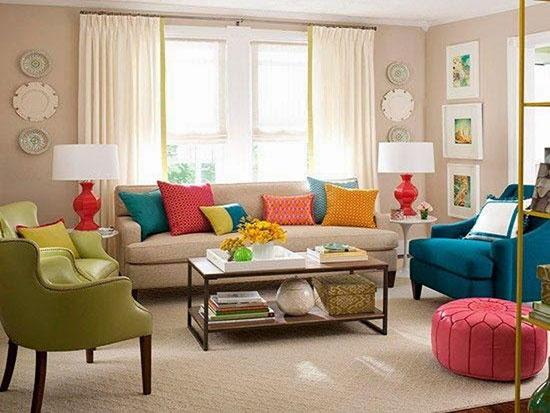 تاثیر رنگ ها در دکوراسیون منزل