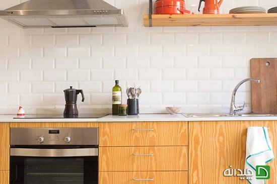 بازسازی آشپزخانه با هزینه ای اندک