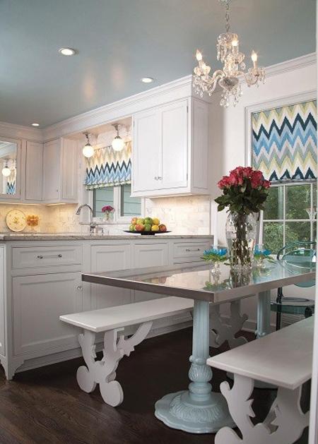 راهنمای انتخاب مدل پرده آشپزخانه