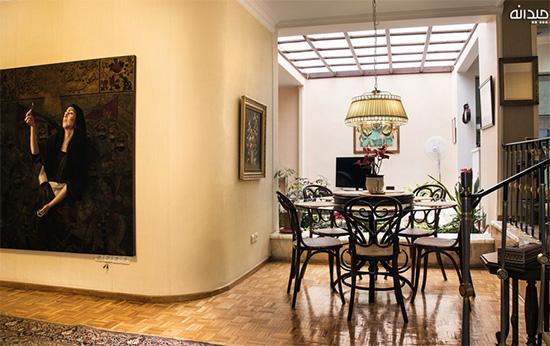 دکوراسیون خانه ایرانی به سبک کلاسیک