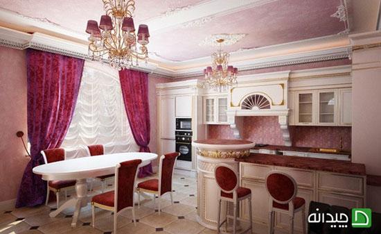انواع پرده آشپزخانه در طراحی داخلی خانه!