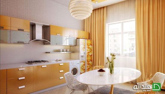 انواع پرده آشپزخانه