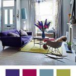 بهترین ترکیب رنگ ها برای رنگ بنفش چیست؟